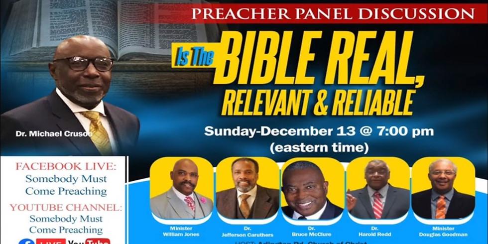 Preacher Panel Discussion