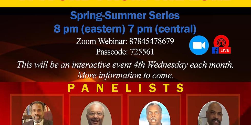 Preacher's Panel Discussion | March 2021