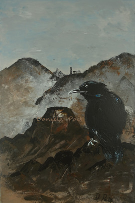 The Crow in Arthur's Seat