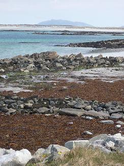 Balivanich beach Benbecula Outer Hebrides Western Isles Scottish island
