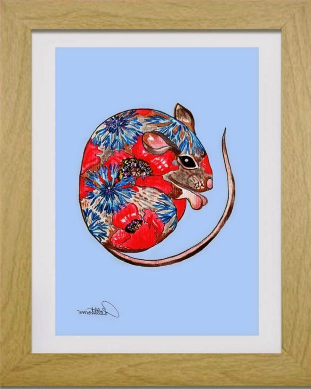 Field Mouse Creature Doodle