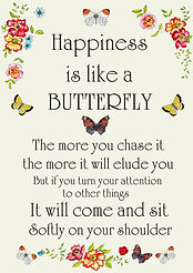 Happiness Quote Happy Wall Art Happiness Is Like A Butterfly Quote Wall Art Quote Quote Printable Quote Download Butterfly Quote Happy Quote Happiness Quote