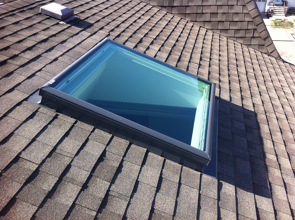 Velux FCM 4646, Velux ECL 4646, Moore Skylights Inc., Toronto Skylight Replacement