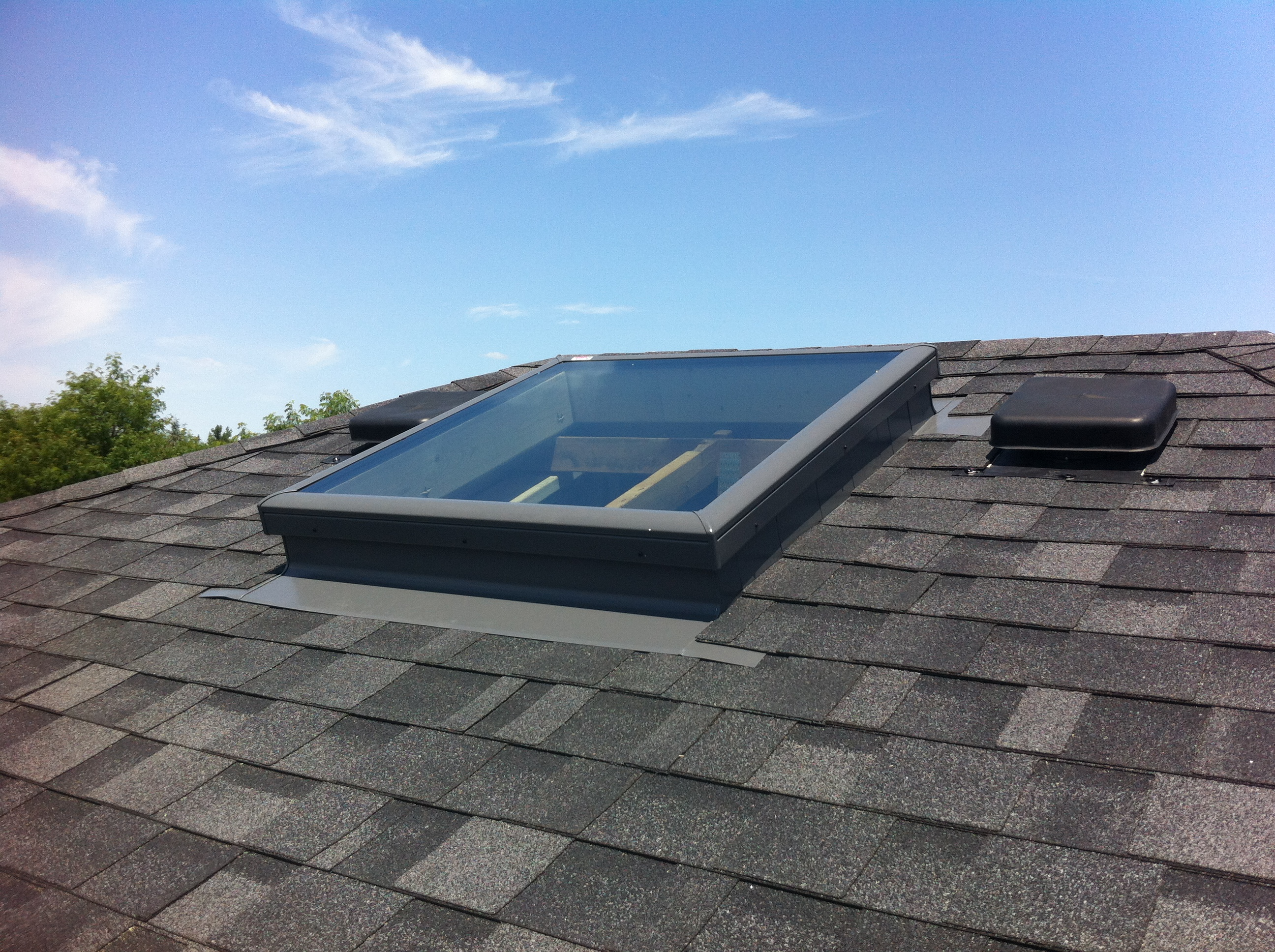 Velux FCM 3030 Installed with ECL 3046 Flashing Kit