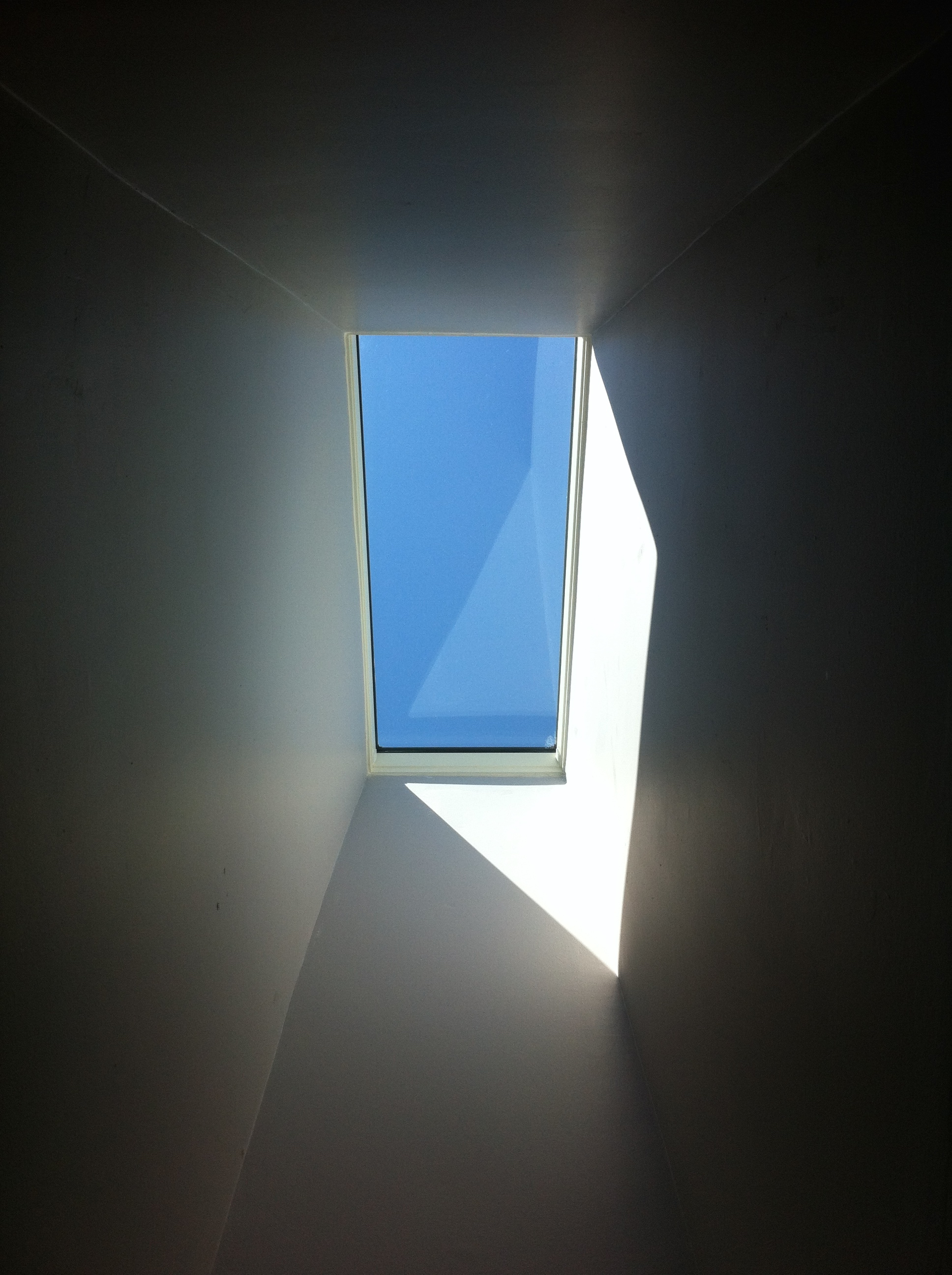 Velux Deck Mount Skylight - Interior