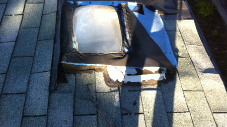 Moore Skylights Inc. (Out with the old rotten skylight)
