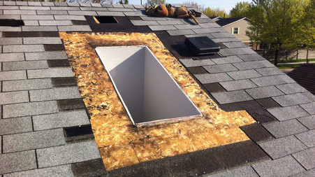Velux Deck Mount - Skylight Replacement (PICTURES)