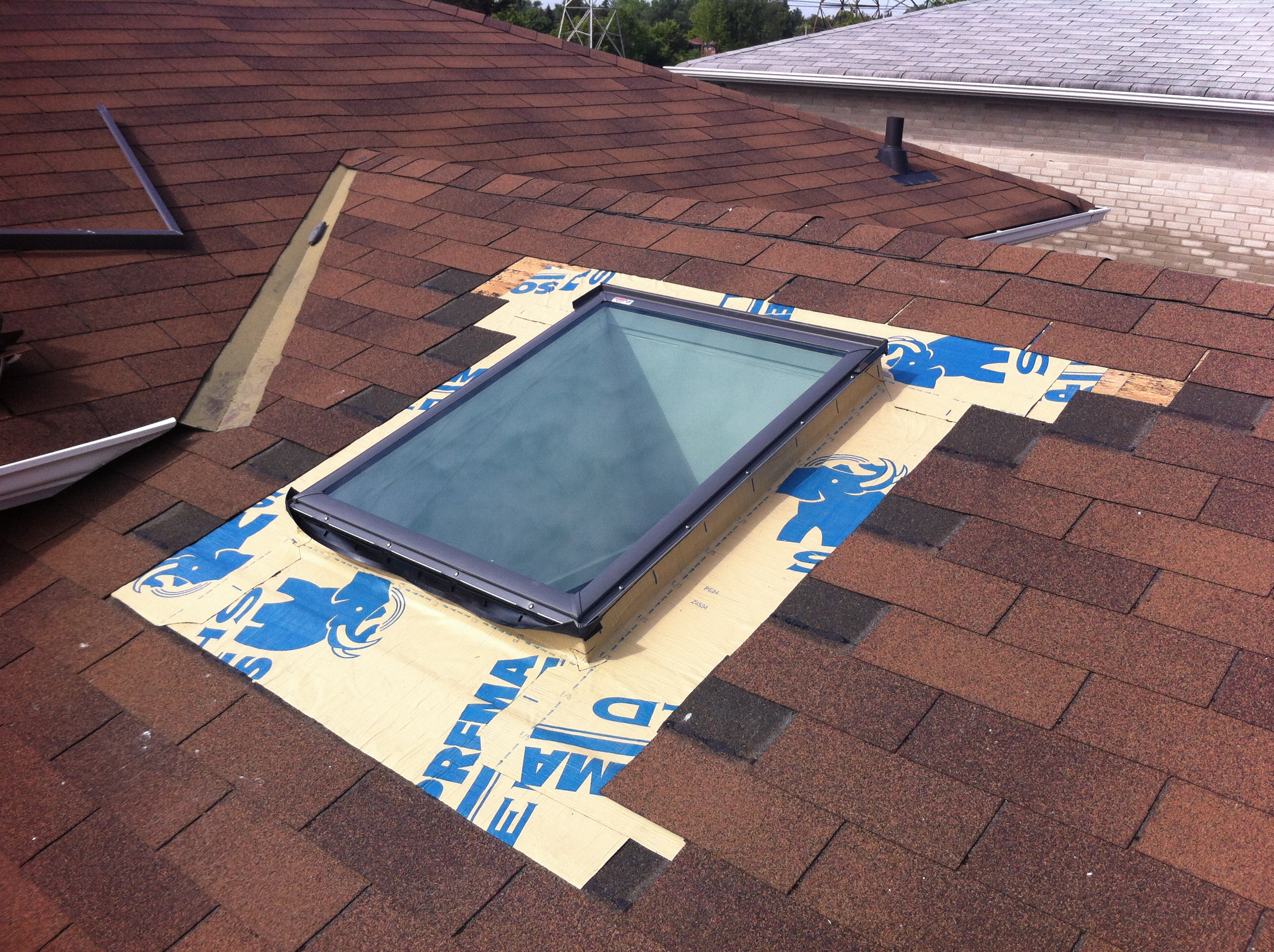 Velux Deck Mount Skylight