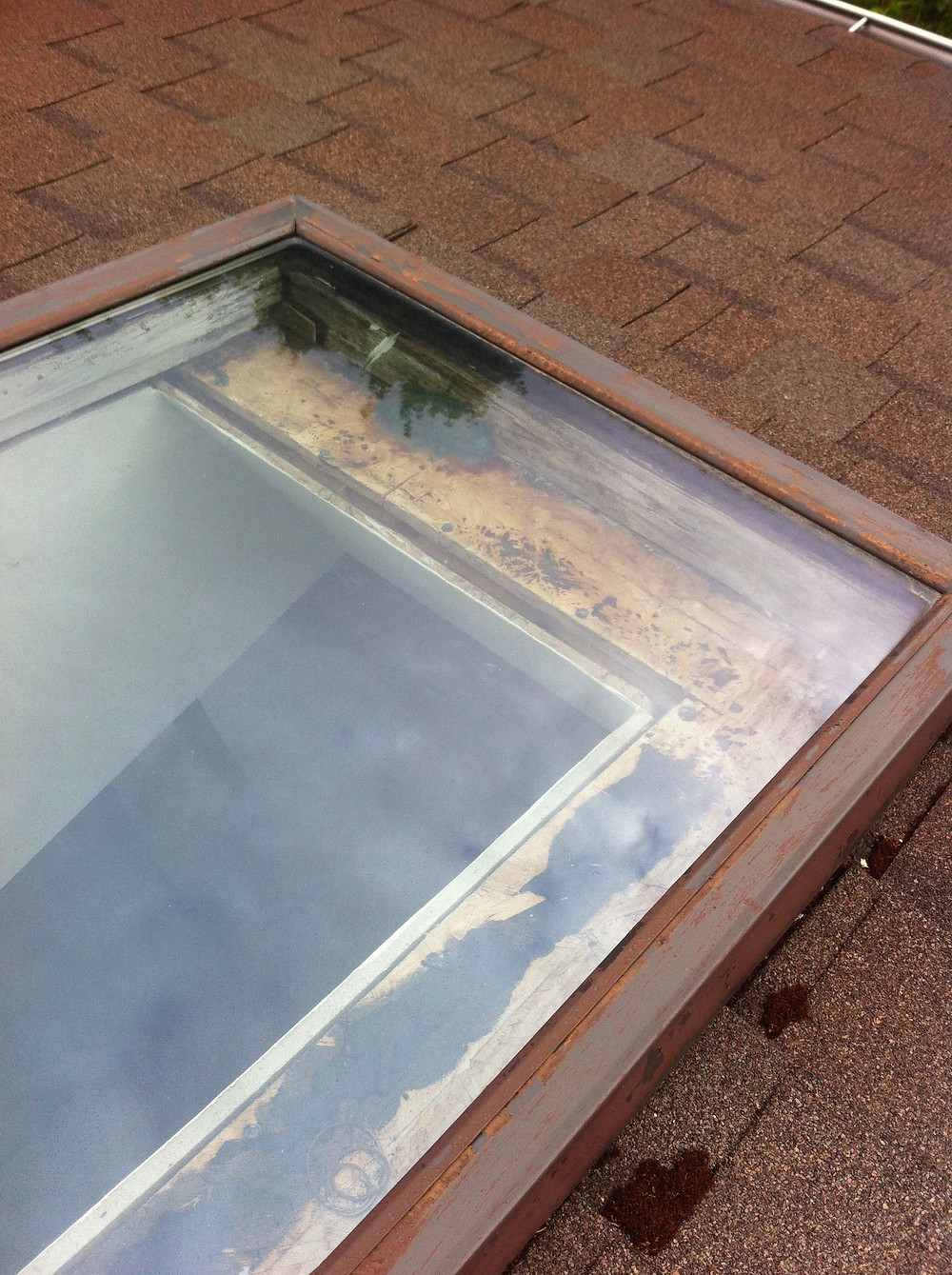 Rotten Skylight, Opeing Too Big, Lazy Roofers