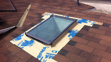 Velux Deck Mount Skylight Replacement