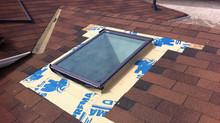 Velux Deck Mount Skylight Replacement