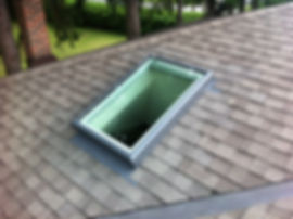 Velux Curb Mount Skylight, FCM 2246, ECL 2246, Markham Ontario