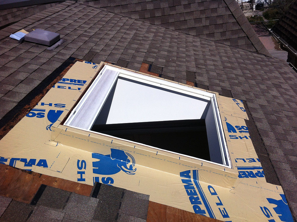 High grade ice and water membrane, Moore Skylights Inc., Toronto Skylight Replacement