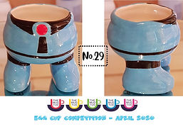 Number 29 - Egg Cup Competition - The Mu