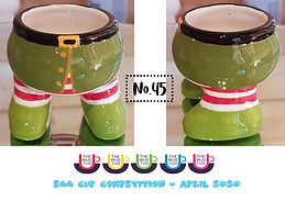 Number 45 - Egg Cup Competition - The Mu