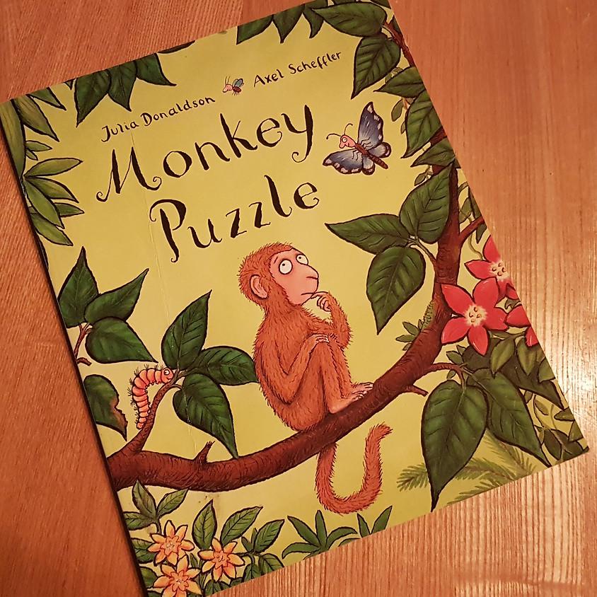 Tots, Pots & Tales - Monkey Puzzle - PM Session