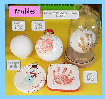 Baubles - Medium Large Jumbo Dome Flat r