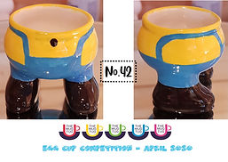 Number 42 - Egg Cup Competition - The Mu