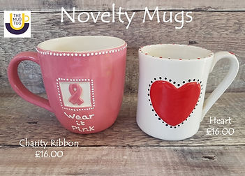 Takeaway Pottery - Novelty Mugs - Charit