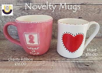 Takeaway Pottery - Novelty Mugs - Charit