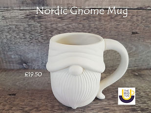 Takeaway Pottery - Mugs - Nordic Gnome -
