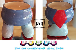 Number 4 - Egg Cup Competition - The Mug