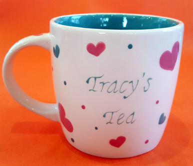 Tracy's Tea - Mug - Commission - Secret