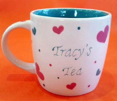 Tracy's Tea - Mug - Commission - Secret