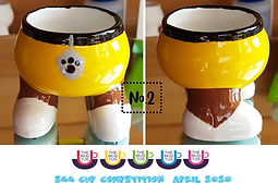 Number 2 - Egg Cup Competition - The Mug