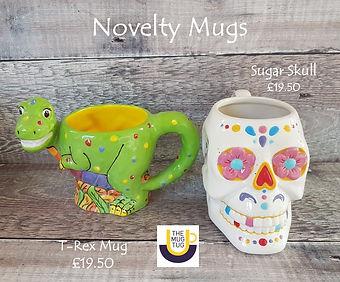 Takeaway Pottery - Novelty Mugs - Dinosa