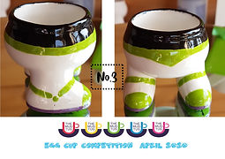 Number 3 - Egg Cup Competition - The Mug