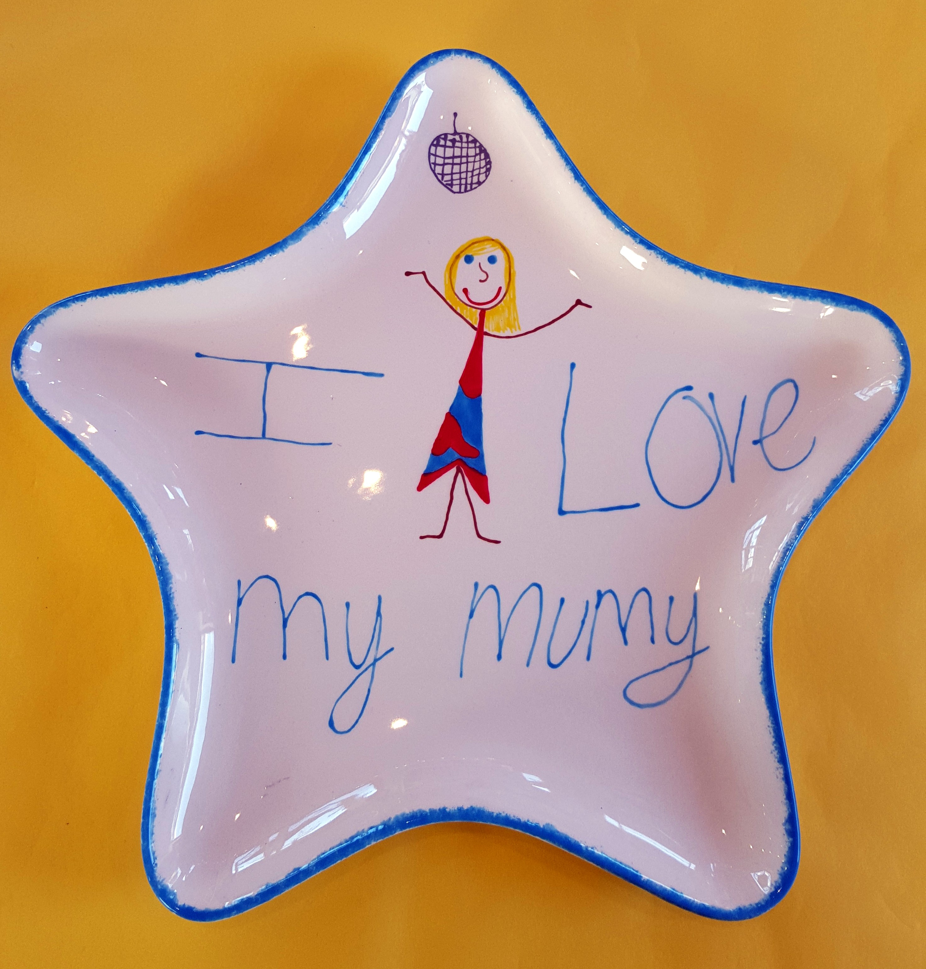 I love mummy Star plate cropped v2