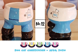 Number 12 - Egg Cup Competition - The Mu