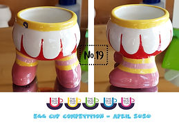 Number 19 - Egg Cup Competition - The Mu