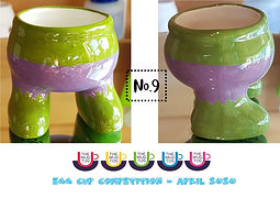 Number 9 - Egg Cup Competition - The Mug