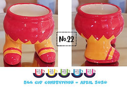 Number 22 - Egg Cup Competition - The Mu
