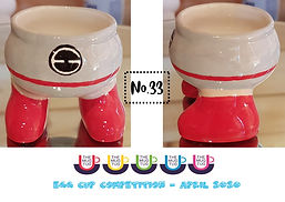 Number 33 - Egg Cup Competition - The Mu