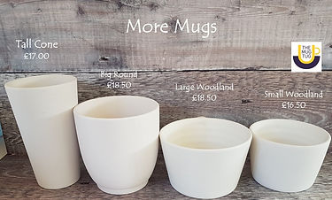 Takeaway Pottery - Mugs - Tall Cone Big