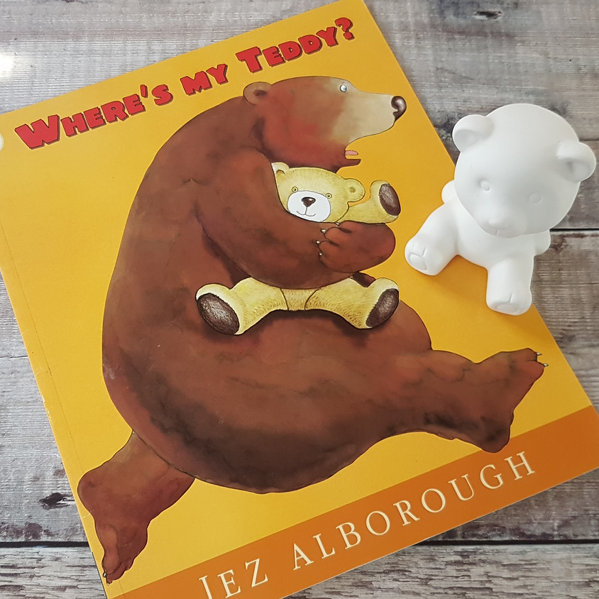 Tots, Pots & Tales - Where's My Teddy - PM Session