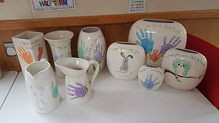 Vases and Jugs with Handprints.jpg