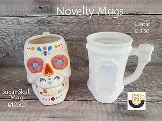 Takeaway Pottery - Novelty Mugs - Sugar