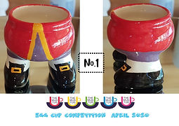 Number 1 - Egg Cup Competition - The Mug