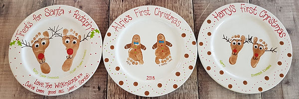 First Christmas - Gingerbread Feet - Chr