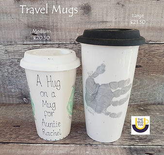 Takeaway Pottery - Travel Mugs - Large M