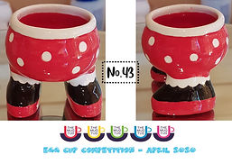 Number 43 - Egg Cup Competition - The Mu