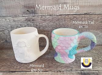 Takeaway Pottery - Novelty Mugs - Mermai