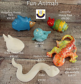 Takeaway Pottery - Fun Animals - Caterpi