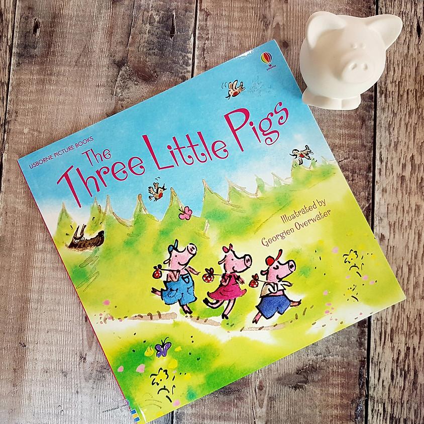Tots, Pots & Tales - Three Little Pigs