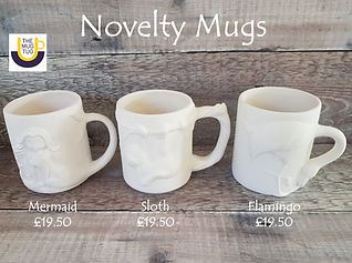 Takeaway Pottery - Novelty Mugs - Mermai