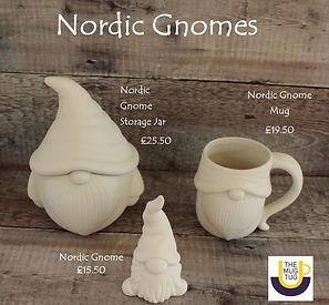 Takeaway Pottery - Nordic Gnomes - Nordi